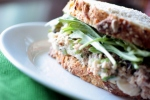 Curried tuna salad and the art of building a sandwich